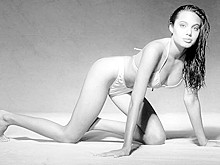 Angelina Jolie Young in Bikini