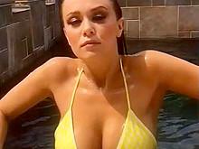 Leanna Decker in Bikini