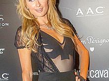 Paris Hilton Nipp Slide